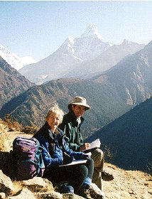 David and Jenny/Ama Dablam