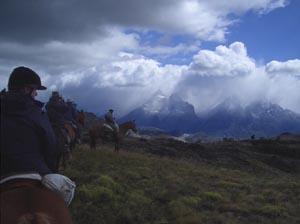 Torres del Paine massif.